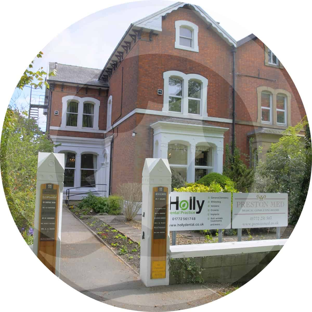 Holly Dental Practice exterior building photograph