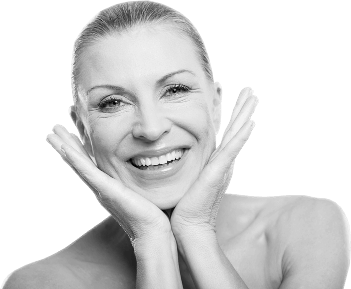smiling mature lady