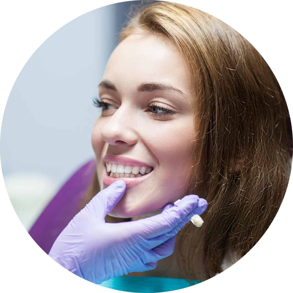 Assessment for crowns and bridges treatment